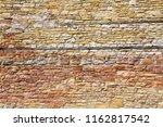 old stone wall background with... | Shutterstock . vector #1162817542