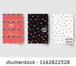 retro geometric covers design...   Shutterstock .eps vector #1162822528