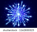 bright firework. color neon... | Shutterstock .eps vector #1162830325