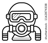 diving icon vector | Shutterstock .eps vector #1162874338