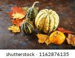 Small Decorative Pumpkins And...