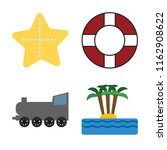 set of 4 vector icons such as... | Shutterstock .eps vector #1162908622
