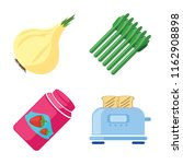 set of 4 vector icons such as... | Shutterstock .eps vector #1162908898