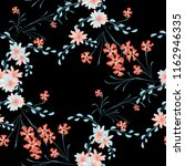 small flowers. seamless pattern ... | Shutterstock .eps vector #1162946335