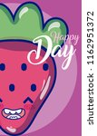 happy day card | Shutterstock .eps vector #1162951372