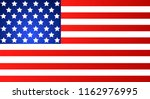 american flag for independence... | Shutterstock . vector #1162976995
