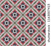 pattern background geometric | Shutterstock . vector #1163007415