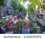 amsterdam  netherlands   july... | Shutterstock . vector #1163025292