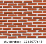 backgrounds with brick patterns | Shutterstock .eps vector #1163077645