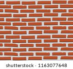 backgrounds with brick patterns | Shutterstock .eps vector #1163077648
