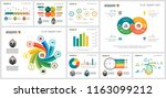 colorful analysis and ecology... | Shutterstock .eps vector #1163099212