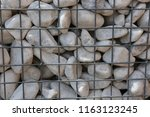 close up outdoor view of a... | Shutterstock . vector #1163123245