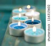 candles  wellness symbols | Shutterstock . vector #116315602