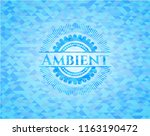ambient realistic light blue... | Shutterstock .eps vector #1163190472