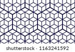 geometric cubes abstract... | Shutterstock .eps vector #1163241592