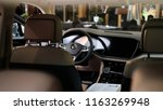 interior of the new 2018... | Shutterstock . vector #1163269948