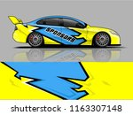 car graphic vector. abstract... | Shutterstock .eps vector #1163307148