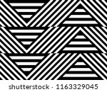 seamless pattern with striped... | Shutterstock .eps vector #1163329045