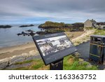 ballintoy  uk   august 6  2018  ... | Shutterstock . vector #1163363752