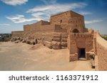 castle of narin  narenj  fars ... | Shutterstock . vector #1163371912