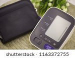 automatic digital blood...   Shutterstock . vector #1163372755