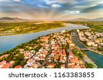 aerial view of hoi an ancient... | Shutterstock . vector #1163383855