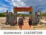 komodo island   indonesia  ... | Shutterstock . vector #1163387248