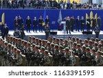 kyiv  ukraine   august 24  2018 ... | Shutterstock . vector #1163391595