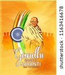 Abstract For Gandhi Jayanti Is...