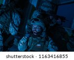 commando team leader  counter... | Shutterstock . vector #1163416855