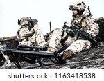 u.s. navy seal infantrymen ... | Shutterstock . vector #1163418538