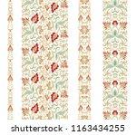 flourish   paisley golden... | Shutterstock .eps vector #1163434255