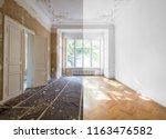 home renovation concept  ... | Shutterstock . vector #1163476582