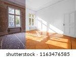 home renovation   empty room... | Shutterstock . vector #1163476585