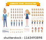 front  side  back view... | Shutterstock .eps vector #1163493898