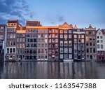 amsterdam  netherlands   july... | Shutterstock . vector #1163547388