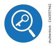 keywords research icon | Shutterstock .eps vector #1163557462