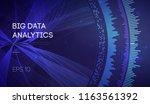 business inteligence technology ... | Shutterstock .eps vector #1163561392