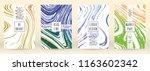 digital marble cover design for ... | Shutterstock .eps vector #1163602342