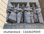 shumen  bulgaria   april 10 ... | Shutterstock . vector #1163629045
