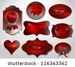 abstract brochure  number line  ...   Shutterstock .eps vector #116363362