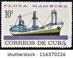 cuba   circa 1962  a stamp... | Shutterstock . vector #116370226