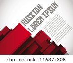 russian layout   print   poster ...   Shutterstock .eps vector #116375308