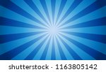 blue sunburst background  ... | Shutterstock .eps vector #1163805142