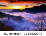 autumn scenery of wanyuan in...   Shutterstock . vector #1163820142