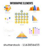 business plan visualisation... | Shutterstock .eps vector #1163856655