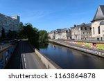 rennes  france   june 27  2018  ... | Shutterstock . vector #1163864878