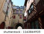 rennes  france   june 27  2018  ... | Shutterstock . vector #1163864935