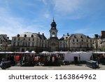 rennes  france   june 27  2018  ... | Shutterstock . vector #1163864962