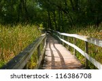 Nice Forest Wooden Bridge...